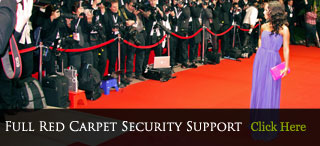 Full Red Carpet Security Service