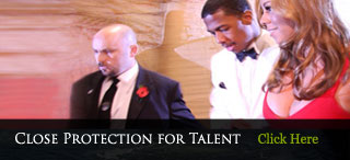 Close Protection Security For Talent