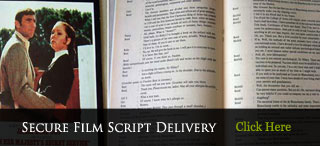 Secure Delivery Of Film And Televisions Scripts